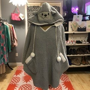 Cozy Critter Pullover. Very soft and warm